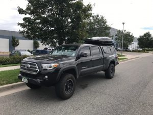 What are roof cargo box accessories?
